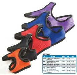 (Four Paws Comfort Control Harness XtraLarge Red Light Weight Neoprene Material)
