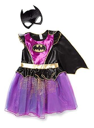 01da15f72f7 Officially licensed DC Comics Purple Batgirl fancy dress Girls 3-4 ...