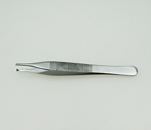Disposable Adson Tissue Forceps 4.75'' Teeth 1x2, Pack of 50pcs - SurgicalExcel