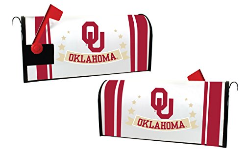 (Oklahoma Sooners Magnetic Mailbox Cover )