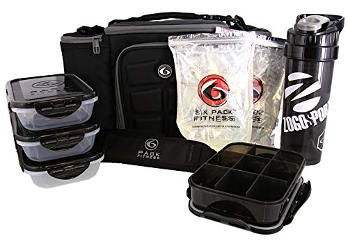 6 Pack Fitness Innovator 300 - And Black Grey