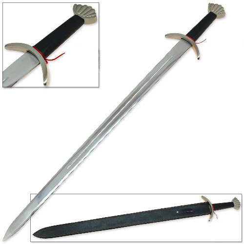 Viking One Handed Long Sword Replica - Full Tang Stainless Steel Ulfberht Style