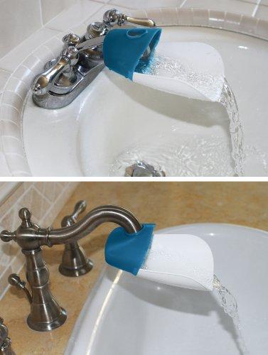 Prince Lionheart Faucet Extender, Flashbulb Fuchsia