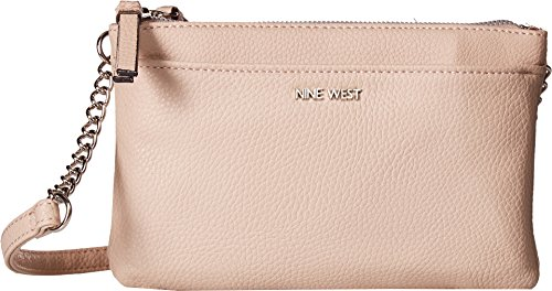 Nine West Women's Pernille Crossbody Cashmere/Rose Gold One Size by Nine West