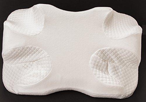 Cpap Pillow New Memory Foam Contour Design Reduces Face Amp Nasal Mask Pressure Air Leaks 2