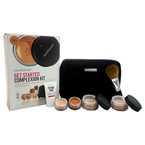 rted Complexion Medium Tan, 7 piece Kit (Bareminerals Kit)