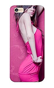 Honeyhoney Shock-dirt Proof Girl In Pink Dress Case Cover Design For iphone 5C - Best Lovers