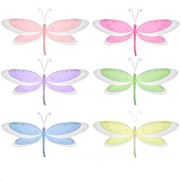 Amazon Dragonfly Decorations Large 13 Multi Layered Nylon