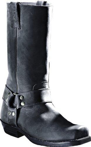 SANCHE Boots Homme Bottes Negro Femme Noir