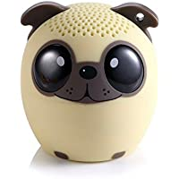 DUETS by My Audio Pet Worlds 1st PAIRABLE Mini Bluetooth Animal Wireless Speakers- TRUE WIRELESS STEREO TECHNOLOGY- Use w/ iPhone, iPad, iPod, Samsung, Tablets, Apple, Android & more- Power Pup