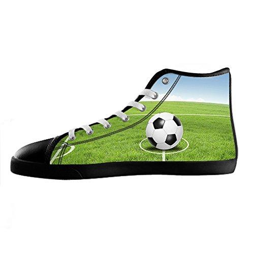 Da Calcio In Custom Di Men's Tela Sport Delle Shoes Le Lacci Alto Canvas Scarpe Sopra I Ginnastica OOUwSq