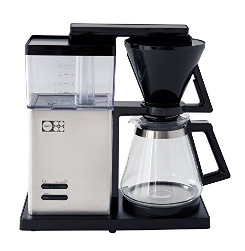 Motif Essential Pour-Over Style Coffee Brewer with Glass Carafe by Motif