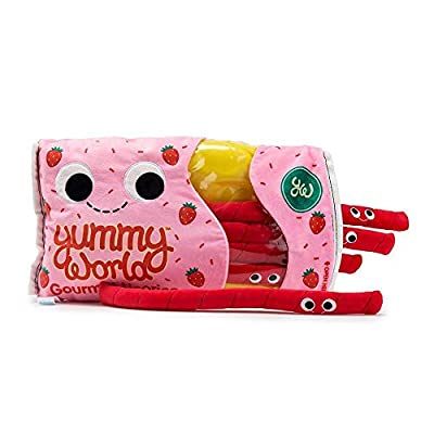 Kidrobot Yummy World Breezy and the Twists Strawberry Licorice Large Plush - Scented: Toys & Games