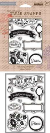 Hero Arts Basic Grey Knee Highs & Bow Ties Clear Stamps Knee Highs Once Upon