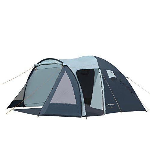 KingCamp Camping Tent 3-Person 3-Season Sun Shelter Water Resistant Portable Room with Porch for Backyards, Patios, and Camping For Sale
