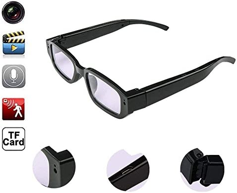07f81cca64 Oumeiou Real Full HD 1080P USB2.0 Spy Camera Glasses Eyewear Mini Hidden  Camera Video Recorder Camcorder DV DVR Voice Recorder 5MP for ...