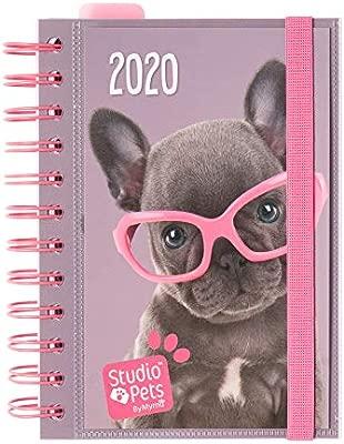 ERIK - Agenda anual 2020 Studio Pets Dog, día página (11,4x16 cm)
