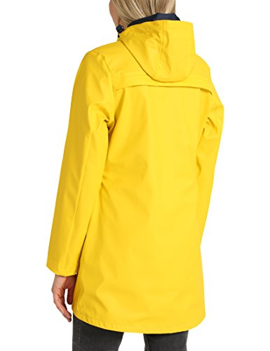 Berydale Bd322 - Chaqueta Impermeable Mujer Amarillo (Gelb Gelb)