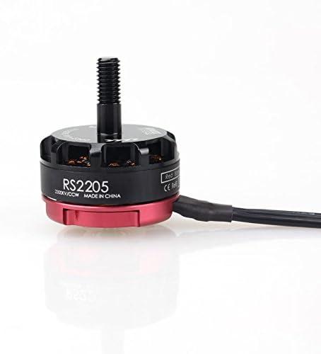B01DEN5RRK Emax RS2205 RaceSpec Motor Cooling Series 2300KV Red Bottoms 2CW 2CCW Motors 41E18danw4L