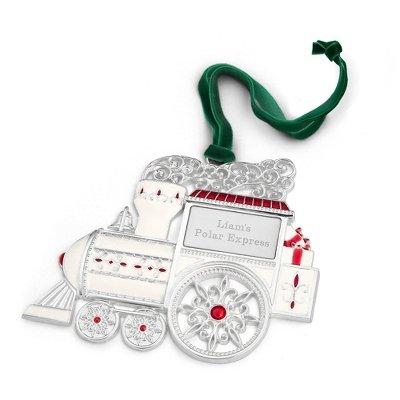 Engravable 2D Train Ornament (Engravable Train)