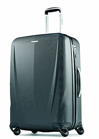 Samsonite Luggage Silhouette Sphere 26 Inch Spinner, Black, One Size