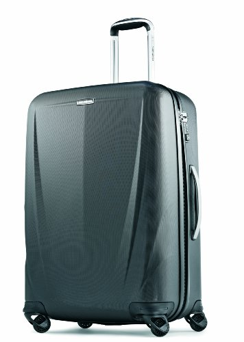 Samsonite Luggage Silhouette Sphere 26 Inch Spinner, Black, One Size (Samsonite Luggage 26)