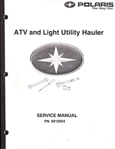 Polaris 1985-1995 ATV and Light Utility Hauler Service Repair Manual #9912004