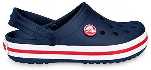 Crocs Crocband Kids Clogs - Navy - US J2