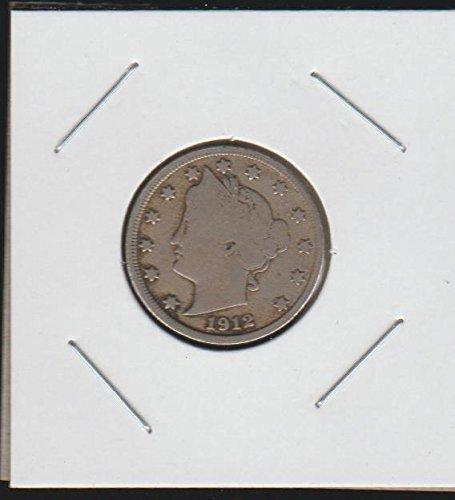 "1912 D Liberty Head or ""V"" (1883-1913) Nickel Fine"