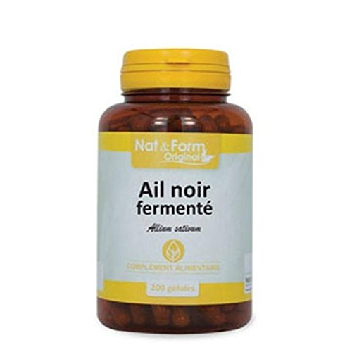 Nat & form ajos negro fermenté 200 Cápsulas: Amazon.es: Salud y cuidado personal