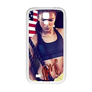 KORSE American Soccer Player Alex Morgan Cell Phone Case for Samsung Galaxy S4