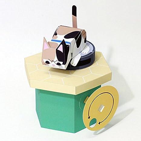 Origami mecánico papel Karakuri Art Craft juguete Spinning ...