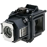 V13H010L47 Epson Projector Lamp Replacement. Projector Lamp Assembly with Genuine Original Ushio Bulb Inside.