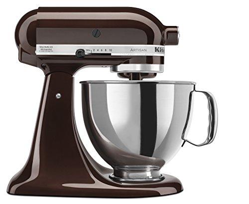 KitchenAid RRK150ES Artisan Series Stand Mixer, 5 quart, Espresso (Certified Refurbished)