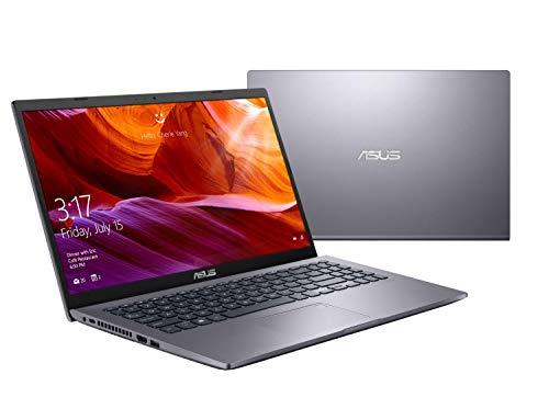 ASUS VivoBook 15 M509DA-EJ542T AMD Quad Core Ryzen 5-3500U 15.6-inch FHD Compact and Light Laptop (4GB RAM/1TB HDD/Windows 10/Integrated Graphics/FP Reader/1.9 kg), Slate Gray