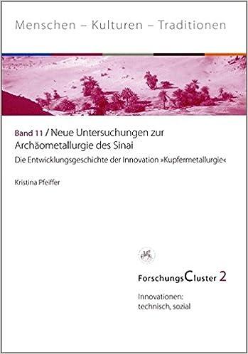 Book ForschungsCluster 2. Neue Untersuchungen zur Archäometallurgie des Sinai