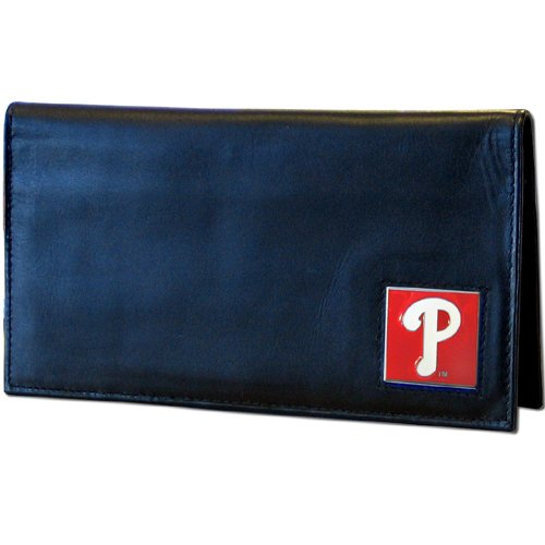 MLB Philadelphia Phillies Leather Checkbook (Philadelphia Phillies Mlb Leather)