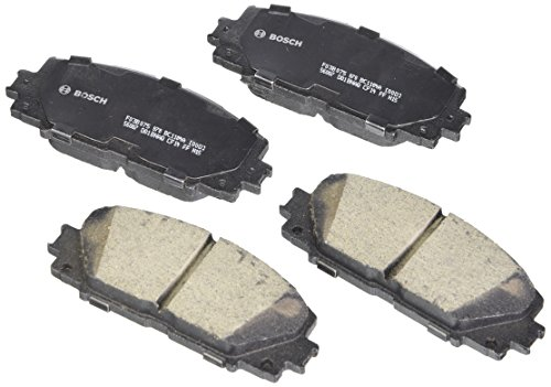 (Bosch BC1184A QuietCast Premium Ceramic Disc Brake Pad Set For: Lexus CT200h; Toyota Prius, Prius Plug-In, Prius Prime, Front)
