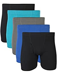 Men's Covered Waistband Boxer Brief Multipack