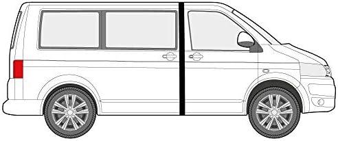Just Kampers - Par de Cortinas para Divisor de Cabina Compatible con VW T4 T5 T6 Transporter 1990 en adelante: Amazon.es: Coche y moto
