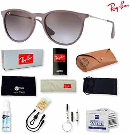 ec08b1c5adf Ray-Ban RB4171 Erika Sunglasses with Deluxe Eyewear Accessories Bundle