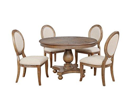 Powell Furniture 15D7053 Lenoir 5 PC Dining Set, Multicolor
