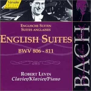 Bach: English Suites Nos 1-6, BWV 806-811 (Edition Bachakademie Vol 113) /Levin (piano)