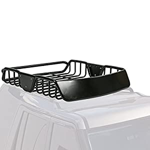 MPH Production Universal Roof Rack for Truck (Cargo Car Top Luggage Carrier Basket Traveling SUV Holder) (LSX-17068)