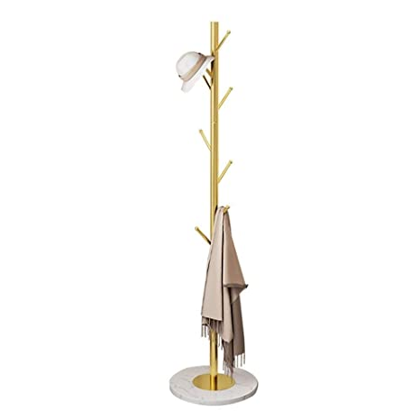 NAOYG COAT RACK Perchero de pie Estante Moderno, Colgante de ...