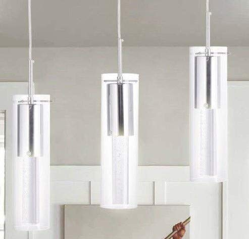 SKEMiDEX---3-Light Chandelier Lighting Fixture Pendent Lamp Home Dining Room This modern and fashionable 3 - Light pendant lighting will bring you warm and soft atmosphere in your home, bar or work