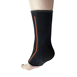 Ankle Brace For Arch & Ankle Support–Top Football, Basketball, Volleyball, Running Ankle Support Braces For Pain Relief & Enhanced Circulation (Small)