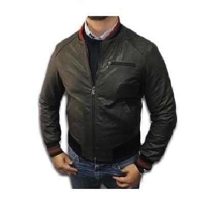 Chaqueta con capucha de piel Producto artesanal casual Mod ...