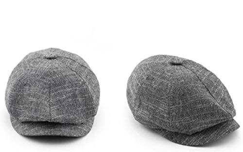 人気帽子 キャップ 春夏リネン 八角形キャップ 屋外帽子,05,58