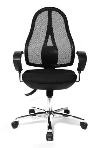 Topstar OP290UG20 Open Point SY Deluxe Chaise de Bureau Noir 48 x 48 x 111 cm